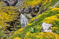 Der Wasserfall Cola de Caballo im schönen Ordesa-Tal