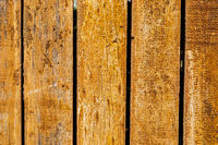 Macro image  of exterior wooden fence texture on timber plank