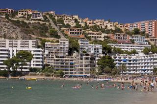 Strand von Santa Ponca, Mallorca Spanien