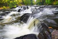 Bond Falls Northwoods Michigan