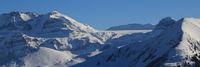 Wildstrubel and Glacier De La Plain Morte.