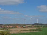 Das Dorf Darfeld in den Baumbergen im Münsterland
