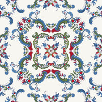 Rosemaling vector pattern 33.eps