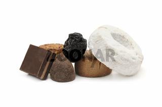 varied sweets