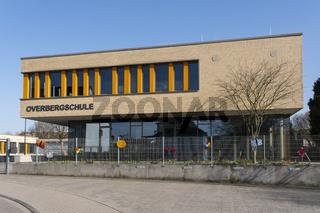 Moderne Grundschule, Luenen, Ruhrgebiet, Nordrhein-Westfalen, Deutschland