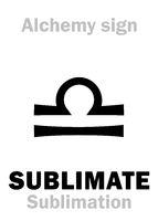 Alchemy: SUBLIMATE (Sublimation)