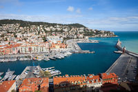 Port Lympia in City of Nice