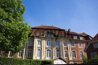 Erbdrostenhof in Münster, Westfalen, Deutschland