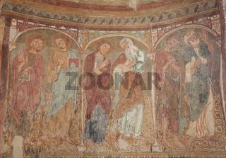 St. Jakob in Kastelaz mit seinen berühmten romanis
