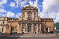 Rome. Santa Susanna all Terme Diokletiano