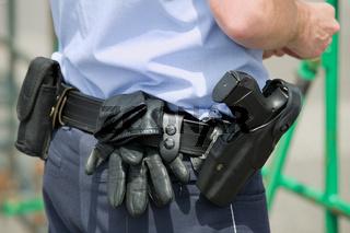 Dienstwaffe eines Polizisten Pistol of a police officer