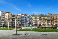 Castle Square, Pamplona, Spain