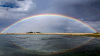 Prairie Rainbow in Saskatchewan