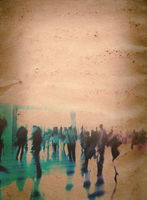 city business people abstract grunge paper texture