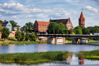 Malbork Town in Poland