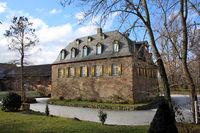 mittelalterliche Kleeburg in Weidesheim