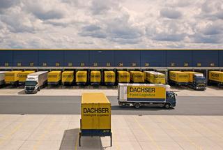 Firma Dachser - Logistikzentrum in Hof/Bayern