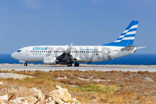 Ellinair Boeing 737-300 Flugzeug Flughafen Heraklion auf Kreta