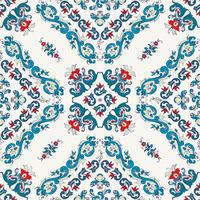 Rosemaling vector pattern 25