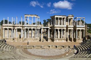 Das Amphitheater in Merida