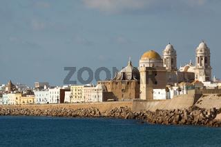 Cadiz Kathedrale. Andalusien