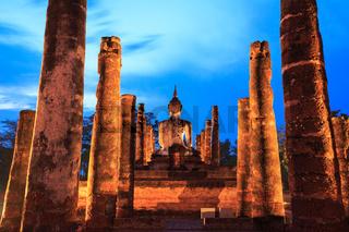 Sukhothai Historical Park Thailand Sunrise