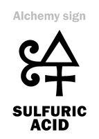 Alchemy: SULPHURIC ACID (Oil of Vitriol / Spirit of Vitriol)