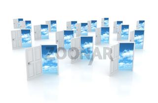 Sky in the Door