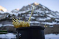 Kochen in den Alpen