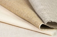 Samples of the various rough fabric