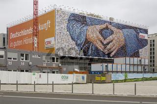 CDU, Grossplakat, Wahlkampf 2013, Berlin