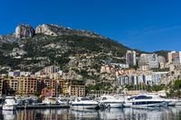 the Port of Fontvieille in the heart of Monaco