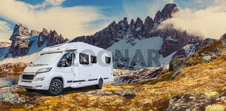 Caravan or mobile home