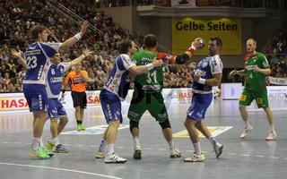 DKB Handball-Bundesliga 2013-2014, 7. Spieltag, SC Magdeburg-TBV Lemgo