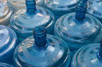 empty plastic canister bottles for water dispenser -