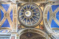 Kuppel der Kirche S. Agostino in Campo Marzio in der Nähe der Piazza Navona in Rom