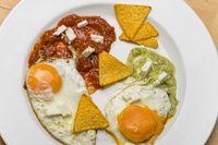 mexikanische Spiegeleier mit Salsa