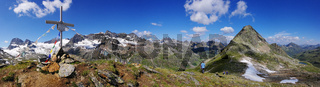 Der Piz R6 in der Silvretta