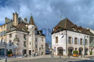 Street in Beaune, France