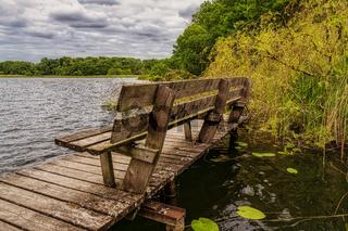 Lake Daschow (Daschower See), Mecklenburg-Western Pomerania, Germany