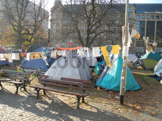 Occupy in Frankfurt