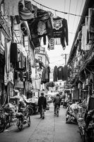 Old street in Shanghai city