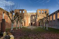 Klosterruine Limburg, Bad Dürkheim, Rheinland-Pfalz, Deutschland