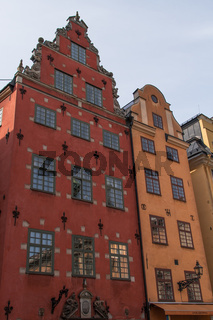 historical architecture tower in Stockholm, Sweden