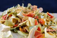 Gefriergetrocknetes Suppengemüse aus Karotten