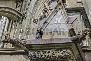 Gargoyles On A Cathedral Trondheim Norway