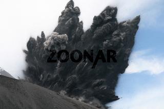 Krakatau Vulkanausbruch