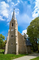 Bergkirche in Schierke im Nationalpark Harz