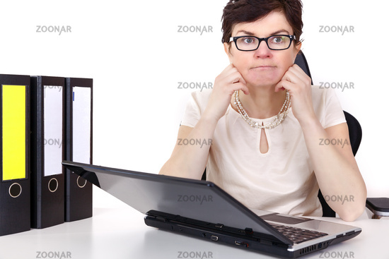 Revised office woman