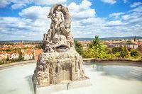 Bamberg Kloster Michaelsberg Brunnen
